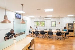 Lagos coworking stations
