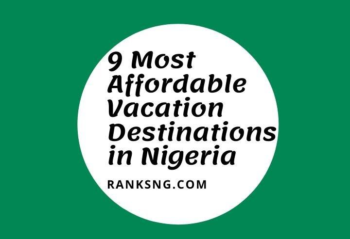 Popular vacation destinations in Nigeria