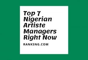 Popular Nigerian music artiste managers