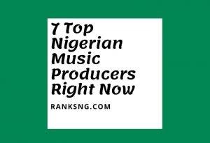 Nigerian music producers