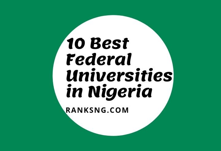 Top federal universities in Nigeria